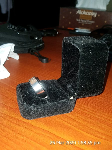 Used NFC MAGIC MEMORY RING 12 size in Dubai, UAE