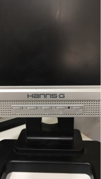 Used Hanns-G LCD Monitor with mount in Dubai, UAE