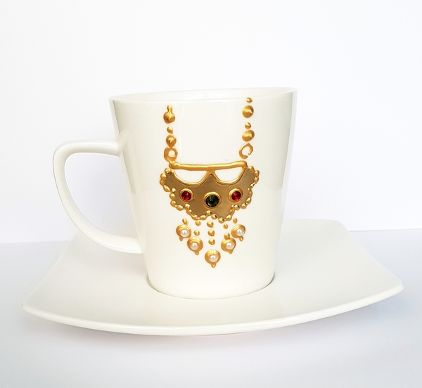 Used Hand made design on cup💥💥SALE💥💥 in Dubai, UAE