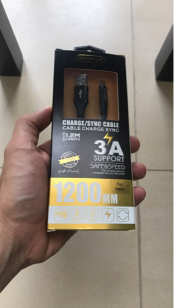 Used Genuine Digitplus Cable (micro usb)  in Dubai, UAE