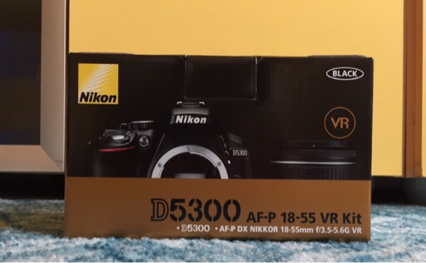 Used Nikon D5300 + 18-55mm Kit Lens in Dubai, UAE