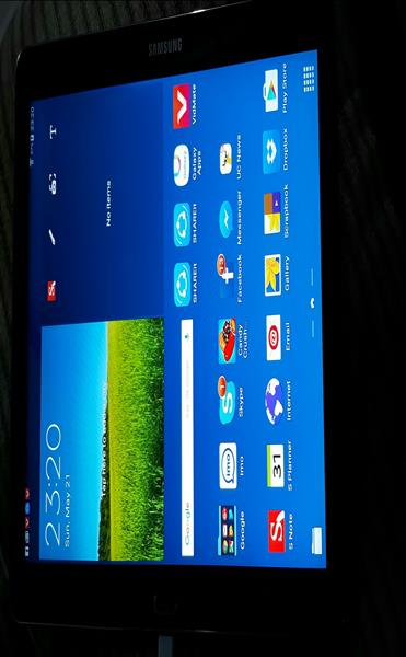 Used Samsung Galaxy Tablet 10.1 2014 Edition. Only Tablet .No box No Charge  in Dubai, UAE