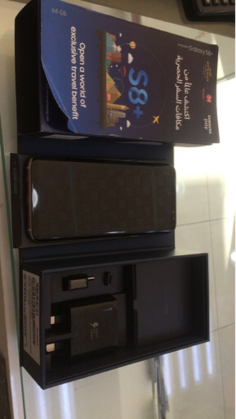 Used Samsung s8+ only 4 months used.. in Dubai, UAE