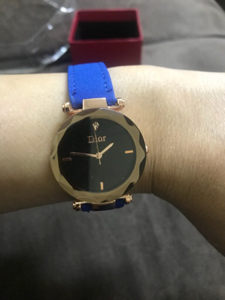 Used Blue Dior Watch ,New. in Dubai, UAE