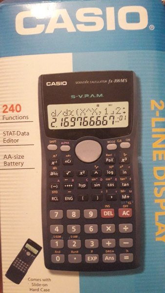 Used Brand new Casio multioperated calculator in Dubai, UAE