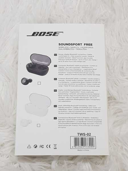 Used Bose TWS 2 Earbuds with charging box in Dubai, UAE