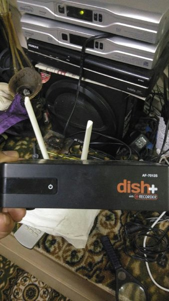 Used Set top box hd 340 1 month recharge in Dubai, UAE