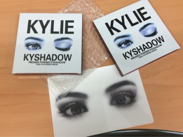 Used 4 nos. Kylie EyeShadow Pressed Powder in Dubai, UAE