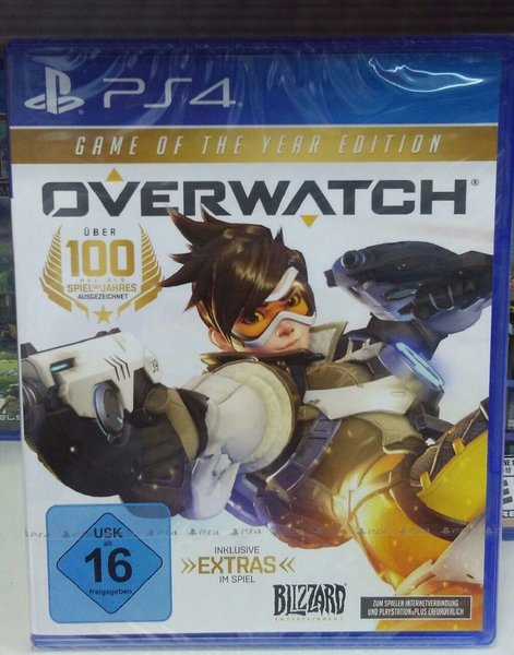 Used Ps4 GAME- OVER WATCH in Dubai, UAE