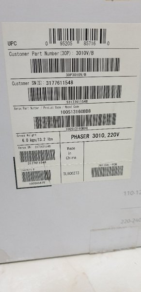Used xerox phaser printer 3010 in Dubai, UAE