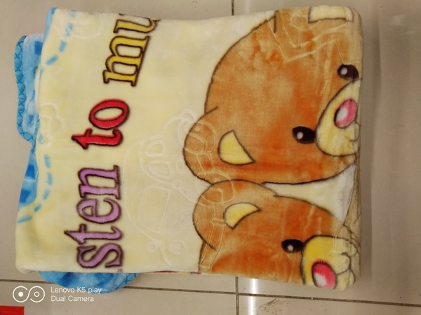 Used Baby fleece blanket in Dubai, UAE