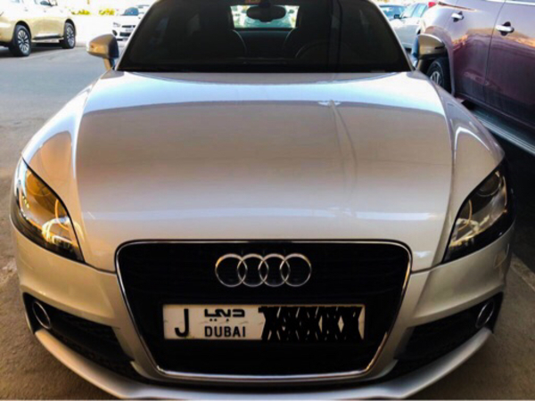 Used Audi TT ,2014, 33000 kms  in Dubai, UAE