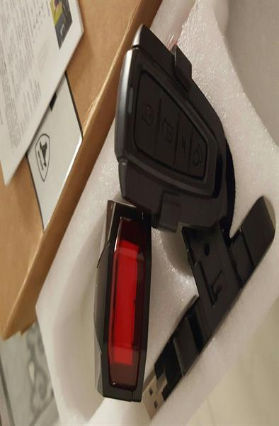 Used Bicycle 3 in 1 Wireless Rear Light Cycling Remote Control Alarm System  in Dubai, UAE