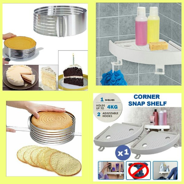 Used CAKE SLICE CUTTER + SNAP UP SHELF in Dubai, UAE