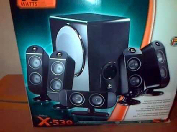 Used Logitech 5.1 Hometheater system in Dubai, UAE
