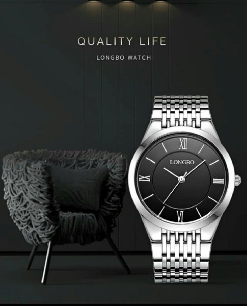 Used High Quality Steel Dress Watch - Unisex in Dubai, UAE