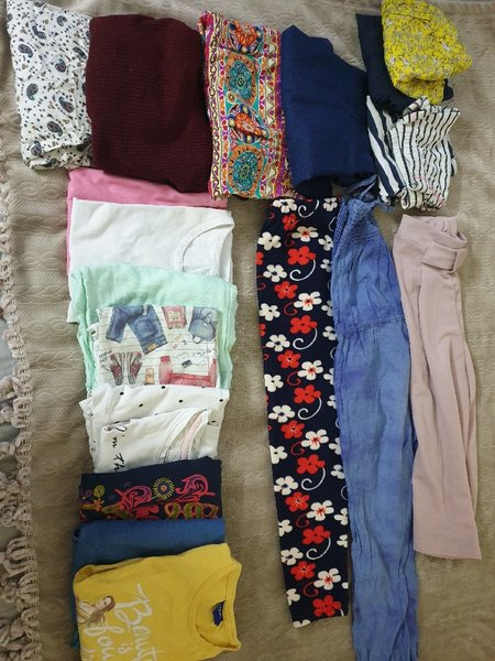 Used Kids clothes/size 7 to 8 years old in Dubai, UAE