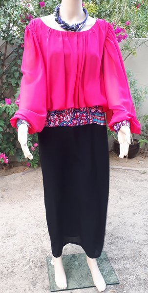 Used Slim dress with exotic touch in Dubai, UAE