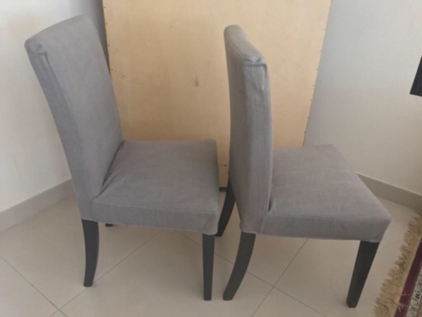 Used Ikea Dining Chairs 02-as good as new in Dubai, UAE