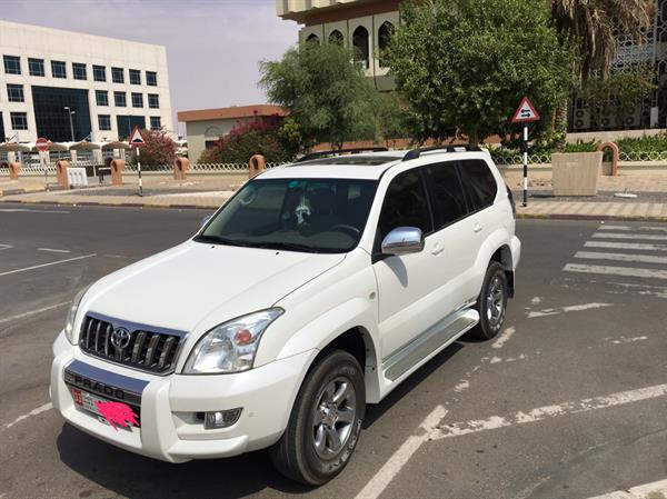Used Toyota Prado 2009 Low Millage In Perfect Condition  in Dubai, UAE
