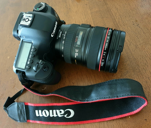 Used Canon 5D Mark III with accessories in Dubai, UAE
