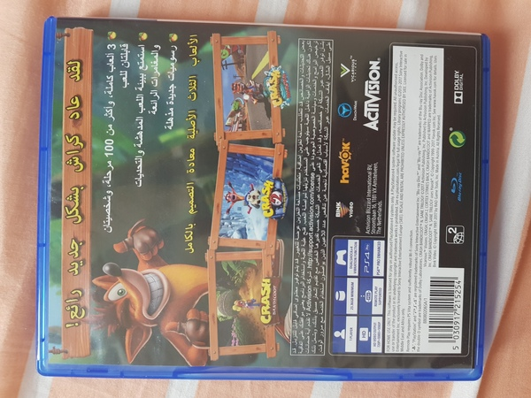 Used PS4 Game Crash Bandicoot N.Sane Trilogy in Dubai, UAE