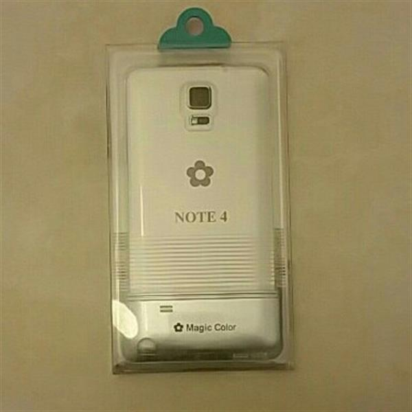 Used TPU Cover For NOTE 4. Transparent case. Brand New. in Dubai, UAE