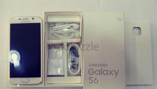 Used Samsung Galaxy S6 32gb White Colour  in Dubai, UAE
