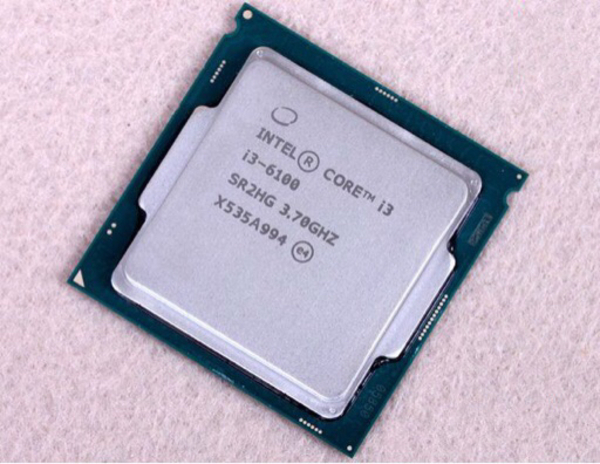 Used CPU intel 6100 generation 6 dual core  in Dubai, UAE