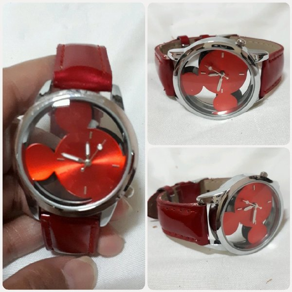 Used Fabulous red DISNEY watch for Her... in Dubai, UAE