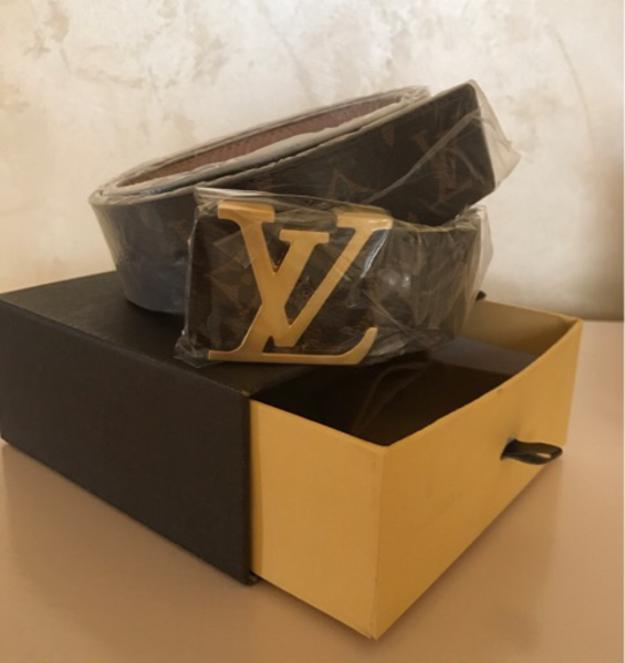 Used LV belt with box in Dubai, UAE