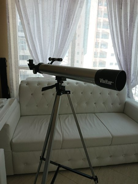Used Vivitar 🔭 Telescope set 3 📴LAAST in Dubai, UAE