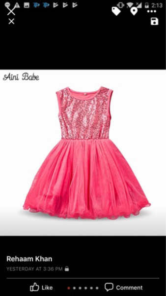 Used BRAND NEW PARTY DRESS in Dubai, UAE