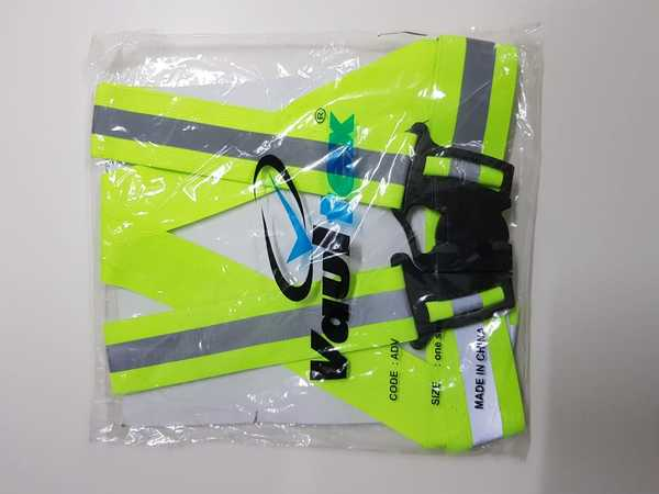 Used Safety Gear Vest 1pc (Blue or Neon) in Dubai, UAE