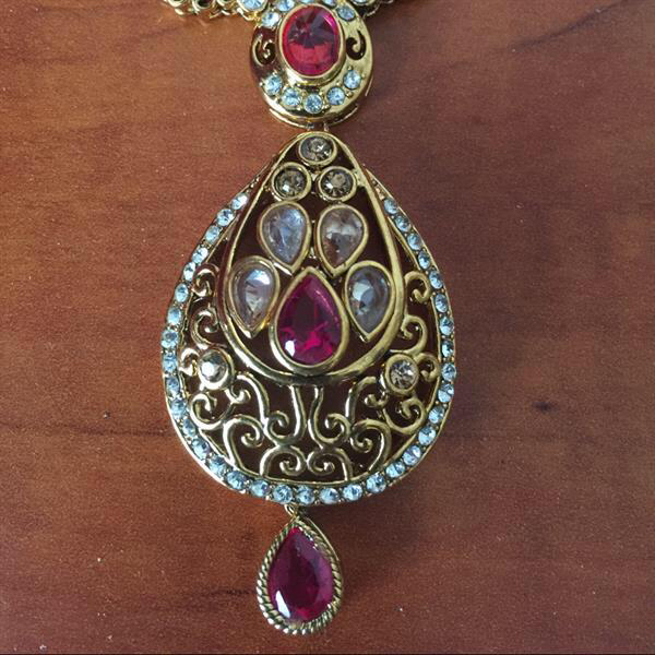 Used Original Ornament From Rajastan- Necklace And Earring Jewelery in Dubai, UAE