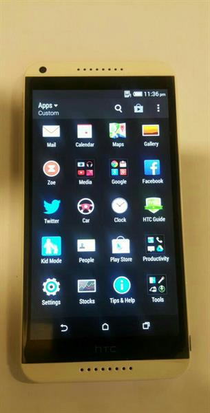 Used HTC 820 LOOK LIKE NEW ONLY MOBILE NO ACCESSORIES in Dubai, UAE
