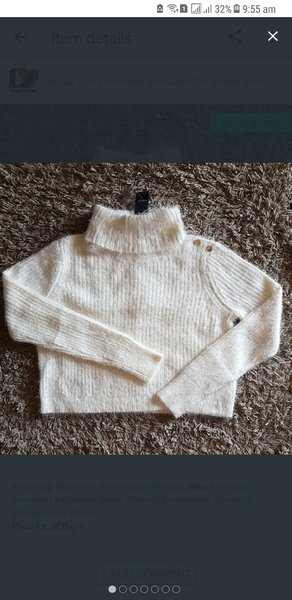 Used Bebe pullover new with tag in Dubai, UAE