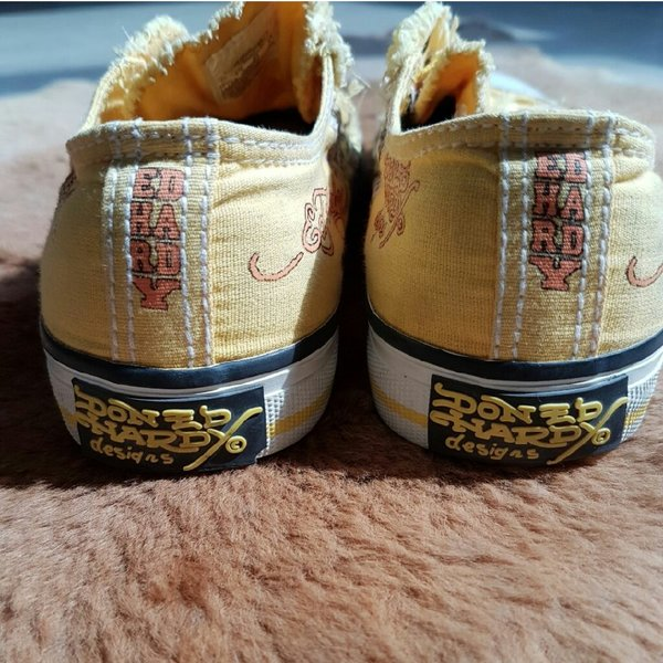 Used Original Ed Hardy sneakers for kids in Dubai, UAE