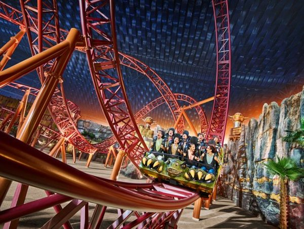 Used CHEAP tickets to IMG worlds of Adventure in Dubai, UAE