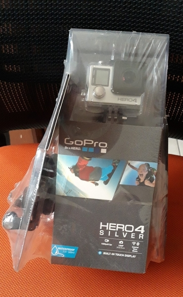 Used GoPro Hero4 Silver New Sealed Pack With in Dubai, UAE