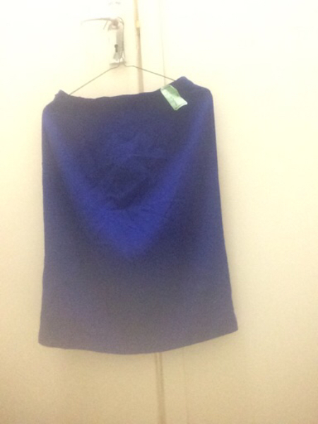 Used blue skirt in Dubai, UAE