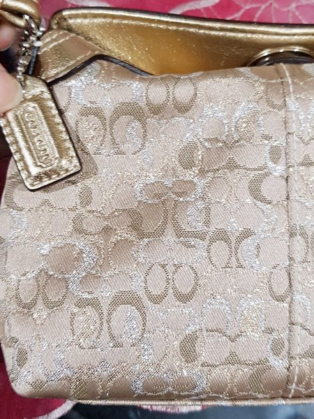 Used Coach clutch in Dubai, UAE