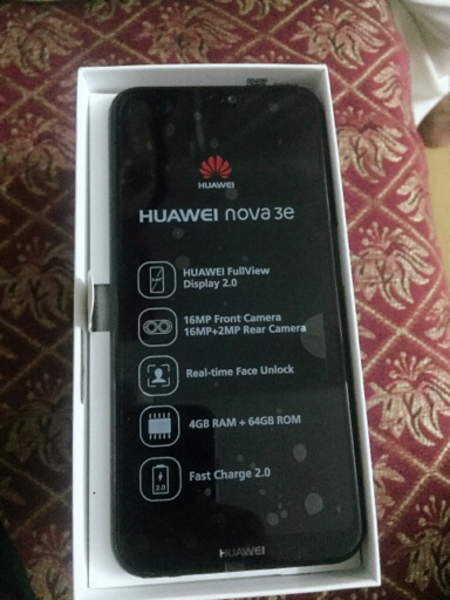 I am selling Huawei Nova 3e original