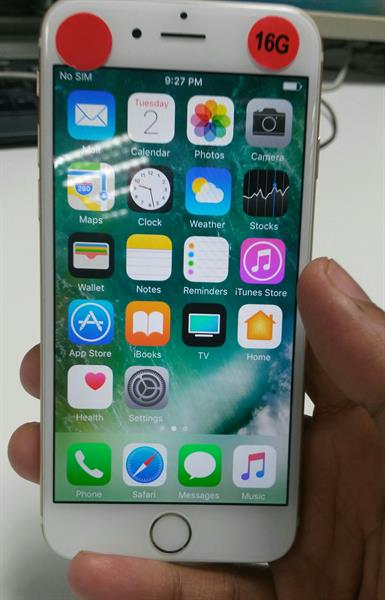 Used IPhone 6Gold 16Gb Orginal Look Like New Only Mobile No Acccessories in Dubai, UAE