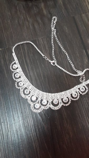 Used Girls accessories tiara and necklace in Dubai, UAE