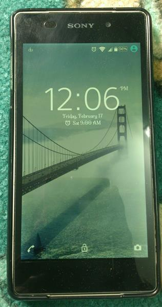 Used Sony Z2 Used Mobile Good Condition 3gb Ram 16gb Invild in Dubai, UAE