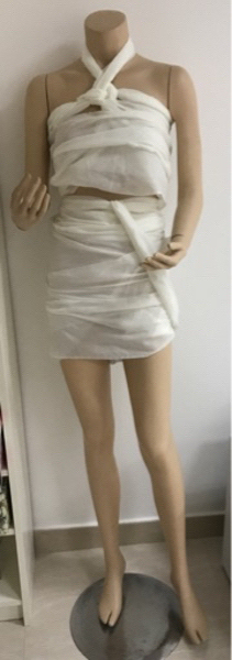 Used Headless Female Display Mannequin in Dubai, UAE