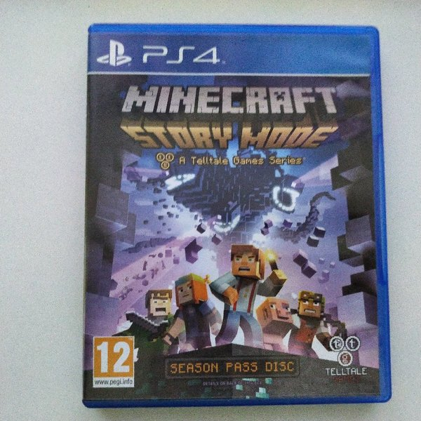 Used Minecraft Story Mode for PS4 - used in Dubai, UAE