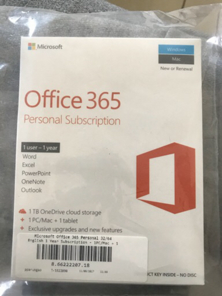 Used Original Office 365 personal unused in Dubai, UAE