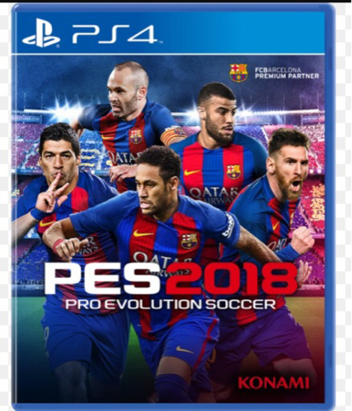 Used Pes 2018 and OVERWATCH Ps4 in Dubai, UAE